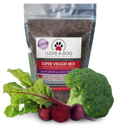 I Love a Dog Super Veggie Mix - Maggies Dog Wellness