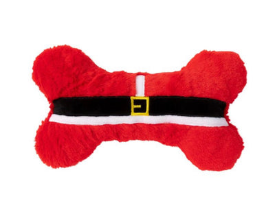 Huge Santa Bone Dog Toy - Maggies Dog Wellness