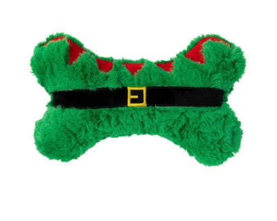 Green Elf Bone Dog Toy - Maggies Dog Wellness