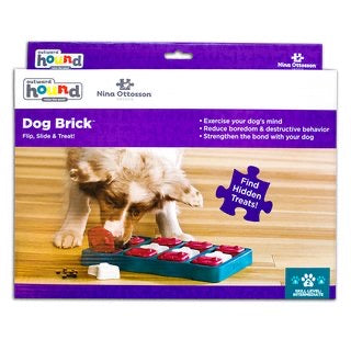 Dog Brick Blue by Nina Ottosson - Maggies Dog Wellness