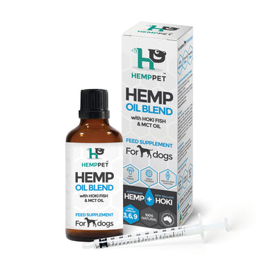 Hemp Oil Blend 100ml - Maggies Dog Wellness