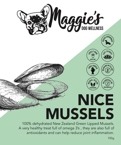 Nice Mussels - Maggies Dog Wellness