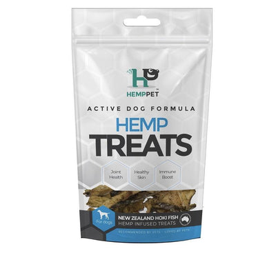 HempPet Hoki Fish Hemp Infused Treats - Maggies Dog Wellness