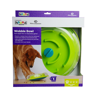 Wobble Bowl by Nina Ottosson level 1 - Maggies Dog Wellness