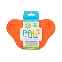 Paw Lick Pad Orange - Maggies Dog Wellness