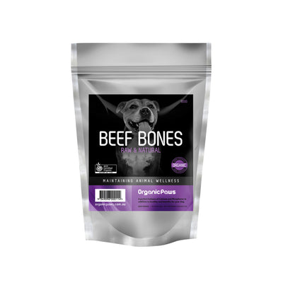 Organic Paws Beef Bones - Maggies Dog Wellness