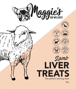 Lamb Liver - Maggies Dog Wellness