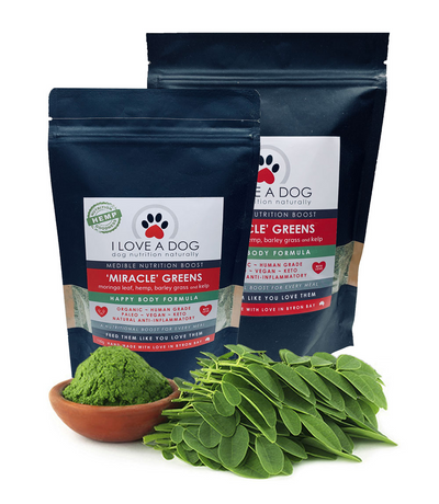 I love a Dog - Miracle Greens 300g - Maggies Dog Wellness