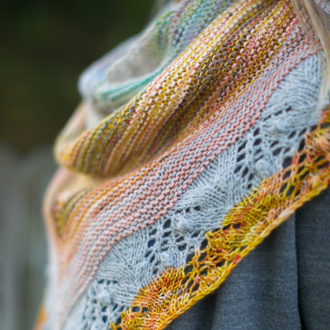 Pine Grove Ridge Shawl