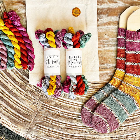 Modern Rainbow Socks No. 1 Kit PRE-ORDER