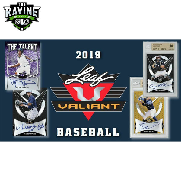 2019 Leaf Valiant Baseball Full Case Break. 60 HITS!