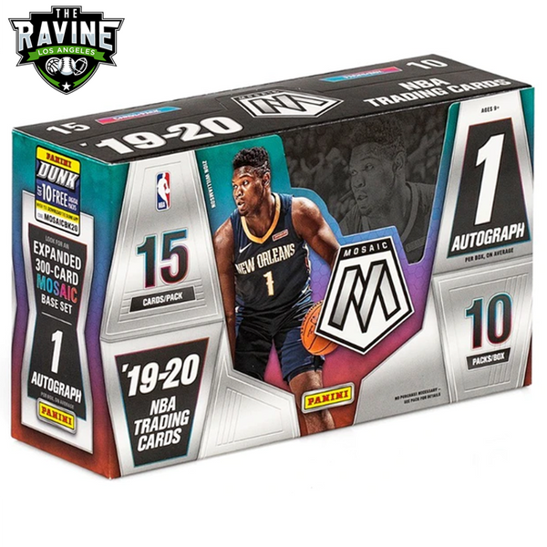 19/20 Panini Mosaic Full Sealed Case Break #4