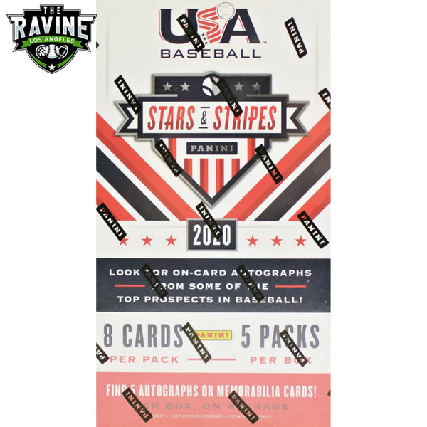 2020 Panini Stars & Stripes USA Baseball Personal Hobby Box Break