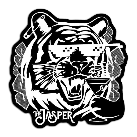 Kewl Tiger Sticker