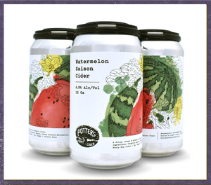 Potter's - Passionfruit Mosaic Cider 4-Pack