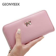 Load image into Gallery viewer, 2019 Women's Clutch Bow Wallet (7 Colors)