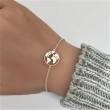 Load image into Gallery viewer, Globe Symbol Bracelet