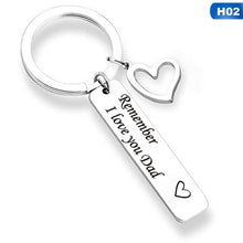 Load image into Gallery viewer, I Love You Mom & Dad Keychains