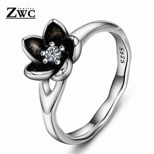 Cubic Zirconia Engagement Style Round Ring (3 styles)