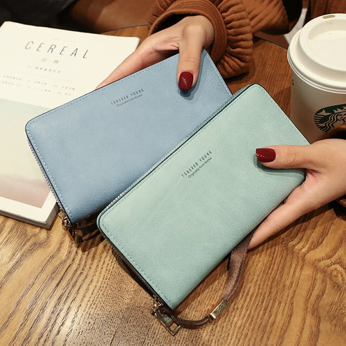 Female Wallet Clutch (10 Colors)