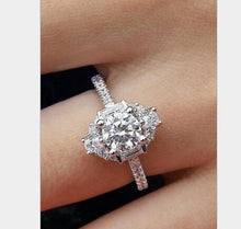 Load image into Gallery viewer, Cubic Zirconia Engagement Ring (155 Styles)