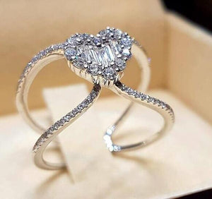 Cubic Zirconia Engagement Ring (155 Styles)