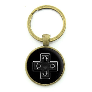 Video Game Controller Keychains (16 Styles)