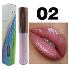 Load image into Gallery viewer, Holographic Liquid Lip Gloss/Plumper