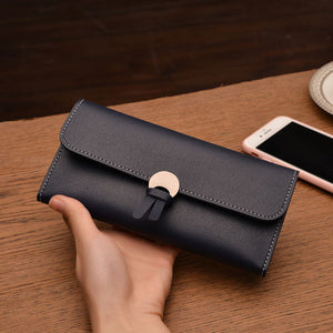 2019 Long Women's Wallet (6 Colors)