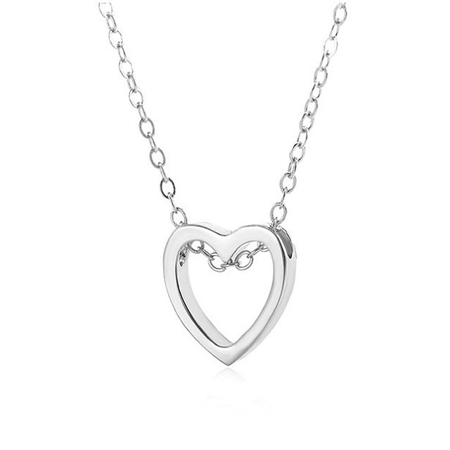 Hollowed Heart Necklace