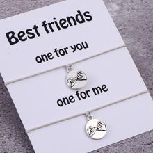Load image into Gallery viewer, Best Friend Pinky Promise Bracelets- Set of 2