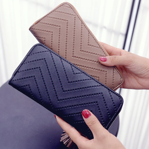 Long Clutch Wallet (6 Colors)