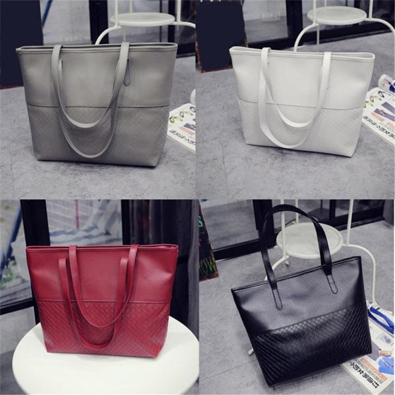 Shoulder Tote Bag (8 Colors)