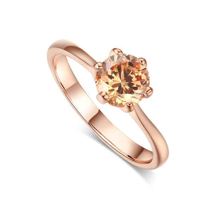Cubic Zirconia Engagement Rings & Birth Stones (54 Styles)