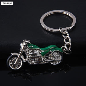 Motorcycle Metal Key Chain (4 Colors)