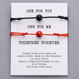 Together Forever Couple Bracelets- Set of 2 (18 Styles)