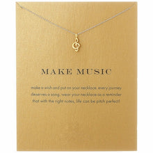 Load image into Gallery viewer, Music Note Necklace