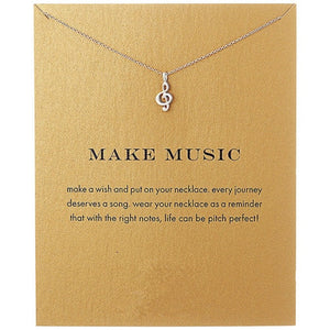 Music Note Necklace