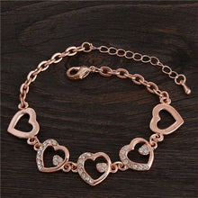 Load image into Gallery viewer, Charm Bracelet Cubic Zirconia (19 Styles)