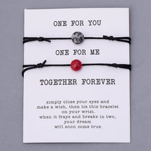 Load image into Gallery viewer, Together Forever Couple Bracelets- Set of 2 (18 Styles)