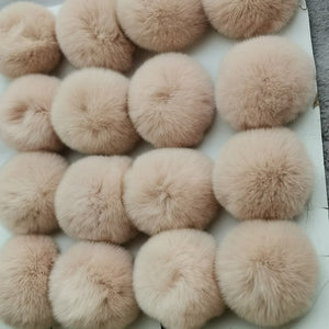 Fluffy Pom-Pom Keychain (42 Colors)