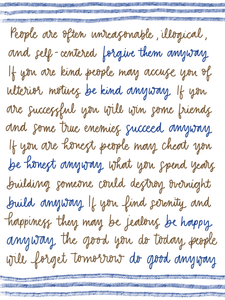 Do Good Anyway -print