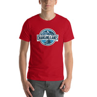 Changing Lanes (Front Only Logo) Short-Sleeve Unisex T-Shirt