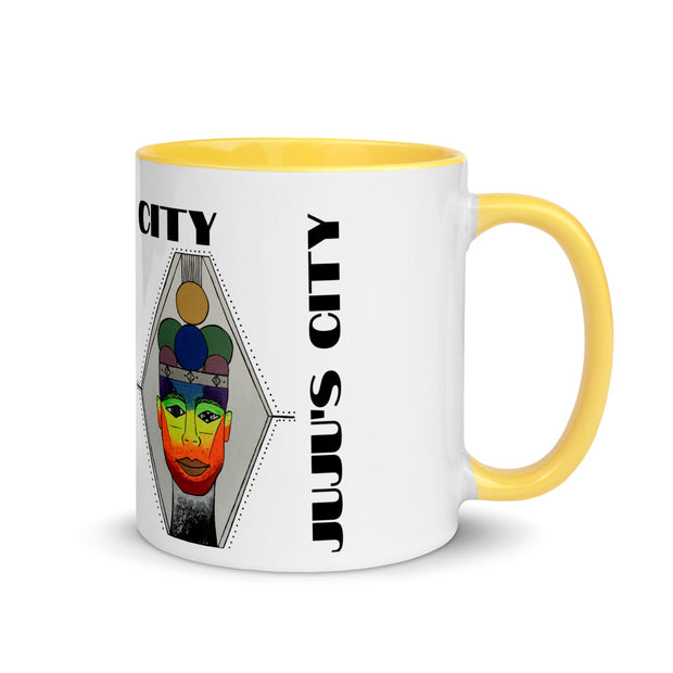 The King - Mug with Color Inside - JUJU'S CITY