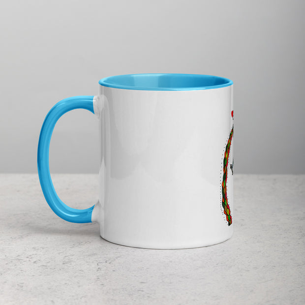 The World - Mug with Color Inside - JUJU'S CITY