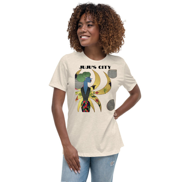 Pretty City - Women's Relaxed T-Shirt - JUJU'S CITY