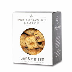 Raisin, Sunflower Seed & Oat Rusks 500g