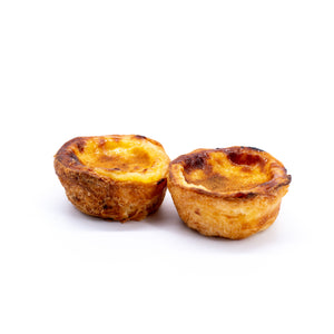 Pasteis de Nata Pack of 2 (Freshly Frozen)