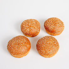 Load image into Gallery viewer, Burger Buns Pack of 4
