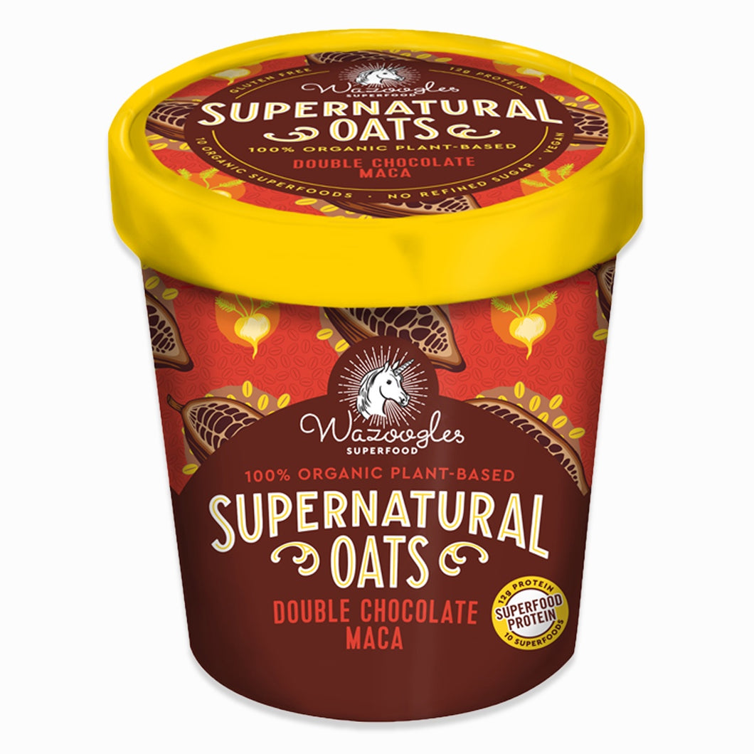 Chocolate Maca Oat Pot 100g